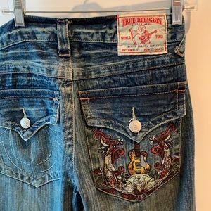 Vintage True Religion flare jeans
